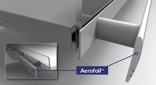 Aerofoil SET refrigeration technology