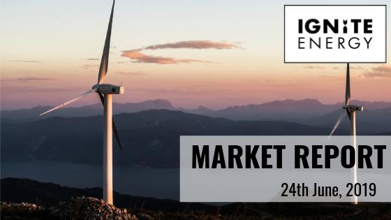 Ignite energy market report 24/6/19