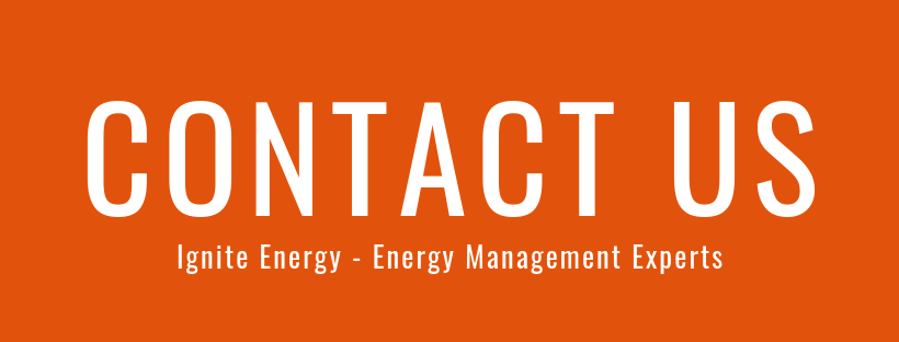 Ignite Energy Contact Us button