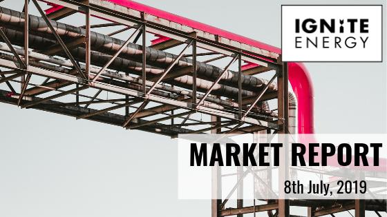 Ignite Energy Market report 08/07/19