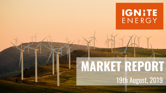 Ignite Market report 19th August 2019