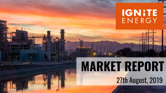 Expert energy market analysis market report 27/8/19