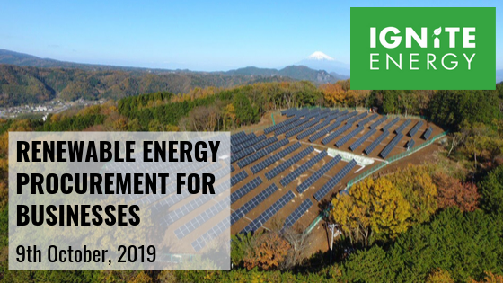 Renewable energy for businesses by Ignite Energy