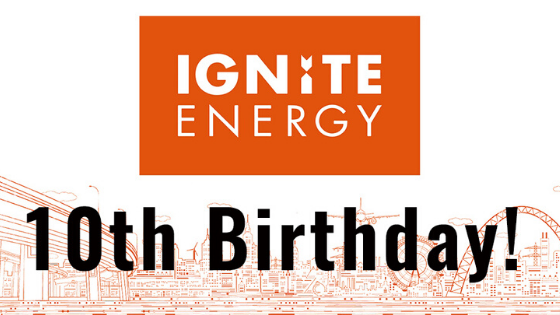 Ignite Energy is 10 years old image