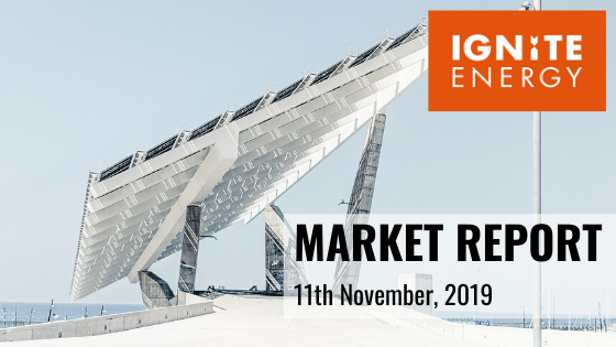 Ignite Energy Market report 11/11/19