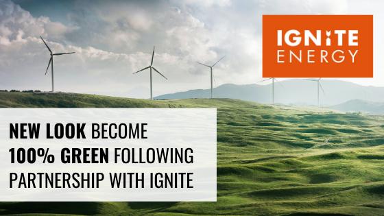 New Look sustainable energy partner